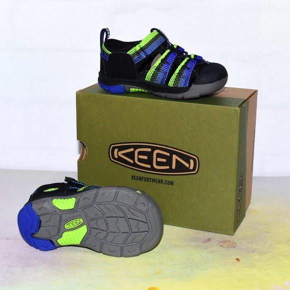 Keen Other - KEEN Newport H2 Sandal Racer Black Blue Green.!